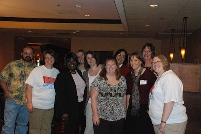 2012 IA SHRM Conference team members working together